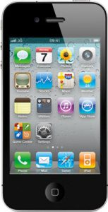 Apple-iPhone-4-Front-View-Black